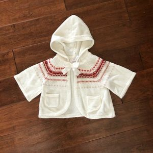 Janie and Jack Knit Sweater Jacket 6-12 months